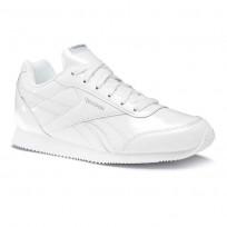 Reebok Royal Classic Jogger Shoes For Girls White/Metallic (100DYWEI)