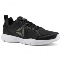 Reebok 3D FUSION TR Training Shoes Mens Black/White/Pewter (106VJXDR)