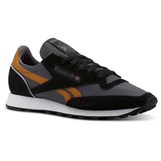 Reebok Classic 83 Shoes For Men Black/Grey/White (122HNFRI)