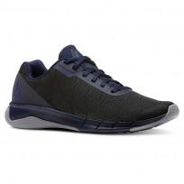 Reebok Flexweave Run Running Shoes Mens Collegiate Navy/Cool Shadow/Bunker Blue (123XFTQA)