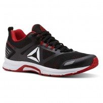 Reebok Ahary Runner Running Shoes Mens White/Black/Primal Red (124SWOEC)