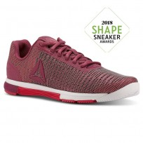 Reebok Speed TR Flexweave™ Training Shoes Womens Twisted Berry/Twisted Pink/White (133QEXVH)