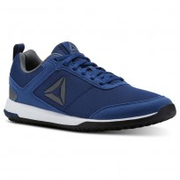 Reebok CXT TR Training Shoes For Men Blue/White/Silver/Black (136MCYWE)