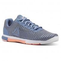 Reebok Speed TR Flexweave™ Training Shoes Womens Blue Slate/Spirit White/Digital Pink (138BQHKP)