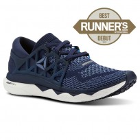 Reebok Custom Floatride Run Running Shoes Womens Collegiate Navy/Bunker Blue/Blue Slate/White (140MCYRO)