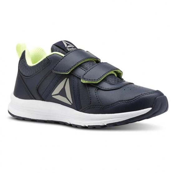Reebok ALMOTIO 4.0 Running Shoes For Boys Navy (142CKLFQ)