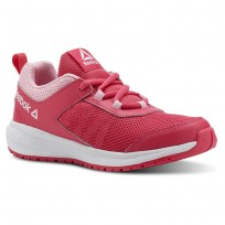 Reebok Road Supreme Running Shoes For Girls Pink/Light Pink/White (142GOTQY)
