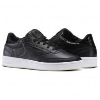 Reebok Club C 85 Shoes Womens Pearl-Black/White/Ice (144THXVL)