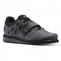 Reebok Lifter PR Shoes Mens Ash Grey/Black/White (148PIUJX)