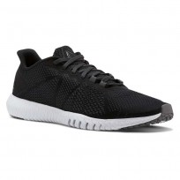Reebok Flexagon Training Shoes For Men Black/White (157TEOCB)