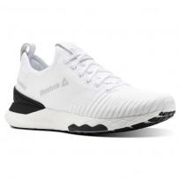 Reebok Floatride 6000 Lifestyle Shoes Mens White/Black/Spirit White (164QITUM)