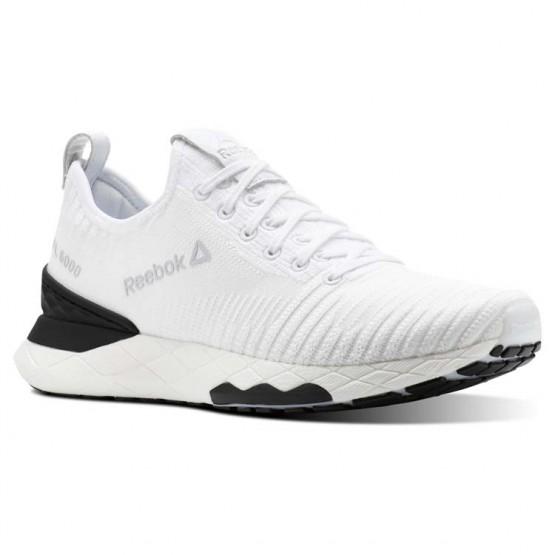 Reebok Floatride 6000 Lifestyle Shoes For Men White/Black/White (164QITUM)