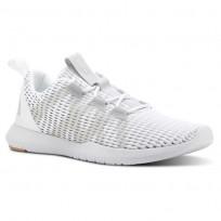 Reebok Reago Training Shoes For Men White/Grey/Brown (171GETZF)