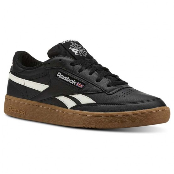 Reebok Revenge Plus Shoes Mens Trc-Black/Chalk/Gum (171YJBKA)