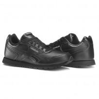 Reebok Royal Glide Shoes Kids Black (174LEHFU)