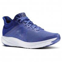 Reebok OSR Distance 3.0 Running Shoes Womens Blue/Brown/Lilac Shadow/Deep Cobalt/White (180SJMQY)