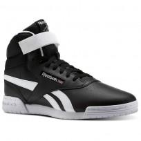 Reebok Ex-O-Fit Shoes For Men Black/White (182YQBAJ)