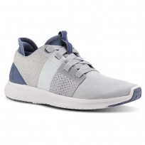Reebok Trilux Run Running Shoes Womens Blue Slate/Cloud Grey/Dreamy Blue/White (182ZDHNB)