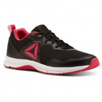 Reebok Express Runner 2.0 Running Shoes Womens Black/Twisted Pink/White (187LQOVR)