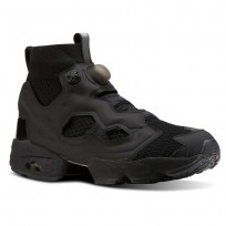 Reebok InstaPump Fury Shoes For Men Black/Pink (191STOAY)