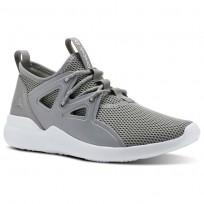 Reebok Cardio Motion Studio Shoes For Women Grey/Lemon (193IEZTS)