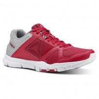 Reebok YourFlex Trainette Training Shoes Womens Rugged Rose/Tin Grey/White (203JHZBC)