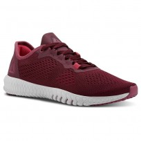 Reebok Flexagon Training Shoes Womens Rusticwine/Twstdbery/Porcelain/Twstdpnk/Chalk (205BXZPW)