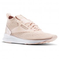 Reebok Zoku Runner Shoes Womens Luna Pink/White/Skull Grey (208FWVGQ)