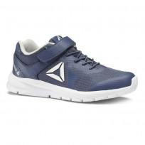 Reebok Rush Runner Running Shoes For Kids Blue/Grey/White (209IOTYW)