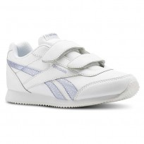 Reebok Royal Classic Jogger Schuhe Mädchen Weiß/Silber (211TOHPC)