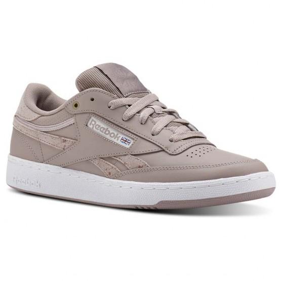 Reebok Revenge Plus Shoes For Men Grey/White (213VPFXG)