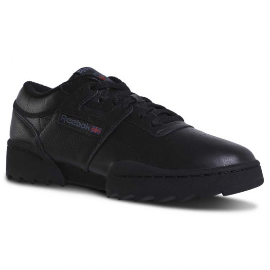 Reebok Workout Ripple OG Shoes Mens Foundation-Black/Graphite/Excellent Red (217MRSZB)