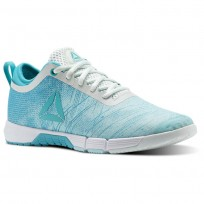 Reebok Speed Training Shoes Womens Blue Lagoon/Solid Teal/Opal/White (218JSGVL)