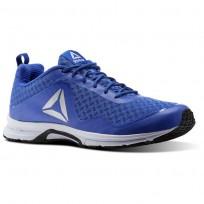 Reebok Triplehall 7.0 Shoes Mens Acid Blue/Collegiate Royal/White (220ZNPAX)