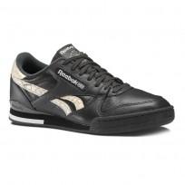 Reebok Phase 1 Pro Shoes Mens Aff-Coal/Chalk/Bare Beige (221PGAOM)