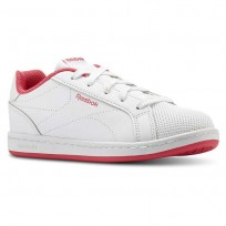 Reebok Royal Complete Shoes For Girls White/Pink (222JHIAB)