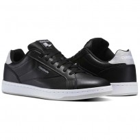 Reebok Royal Complete Shoes Mens Black/Skull Grey/White (229BEYVF)
