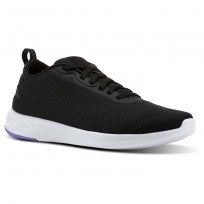 Reebok Astroride Walking Shoes Womens Black/Moonpool/White (231BLCUE)