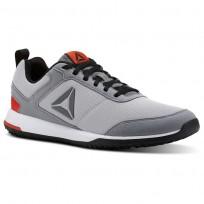 Reebok CXT TR Training Shoes For Men Grey/Grey/Black (237OLQFE)