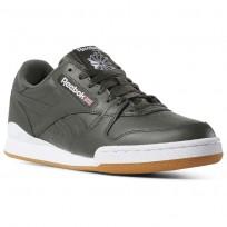 Reebok Phase 1 Pro Shoes Mens Sf-Dark Cypress/White/Gum6 (245BLVKI)