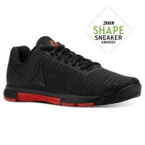 Reebok Speed TR Flexweave™ Training Shoes Womens Black/Carotene (247RJVKO)
