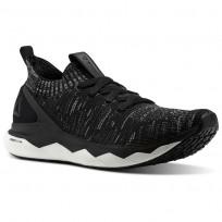 Reebok Floatride RS ULTK Lifestyle Shoes Mens Black/Skull Grey/Coal (261YZIKE)