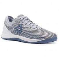Reebok CrossFit Nano Shoes Womens Cloud Grey/Blue Slate/Spirit White/White (262RXAPF)