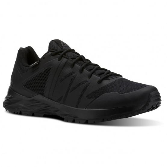 Reebok Astroride Trail Walking Shoes Mens Black/Ash Grey/Primal Red (267WGHAM)