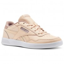 Reebok Royal Techque Schuhe Damen Orange/Rosa/Weiß/Silber (271UCXMN)
