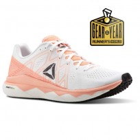 Reebok Floatride Run Running Shoes Womens Digital Pink/White/Black/Ash Grey (276VPTWJ)