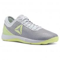 Reebok CrossFit Nano Shoes Womens Spirit White/Cool Shadow/White/Lemon Zest (277KVACN)