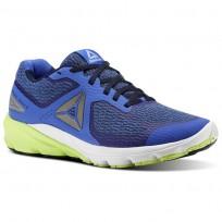 Reebok Harmony Road Running Shoes Mens Acid Blue/CollegiateNavy/White (279KCGZW)