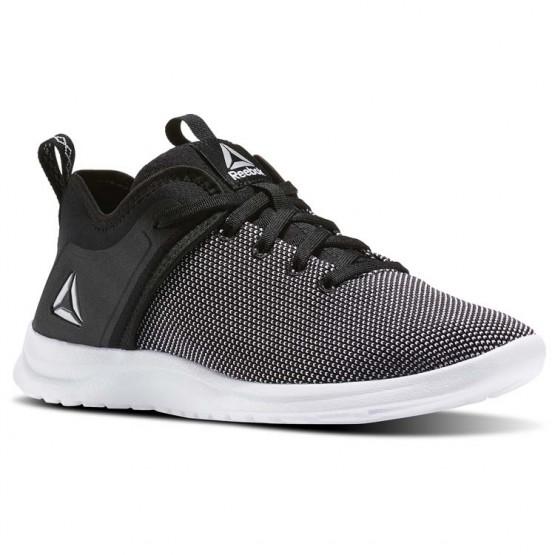 Reebok Solestead Walking Shoes Womens Black/White (280QWLJR)