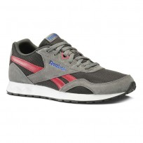Reebok Royal Connect Shoes Mens Hs-Alloy/Coal/Cranbery Red/Vital Blue/Wht/Blk (282WROIP)